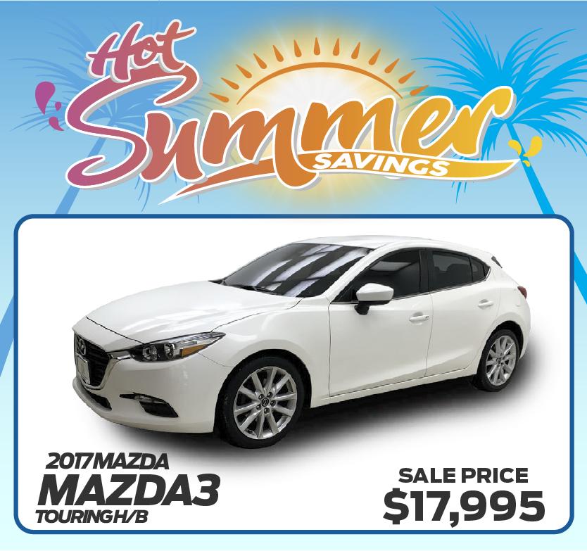 2017 Mazda3 Touring H/B
