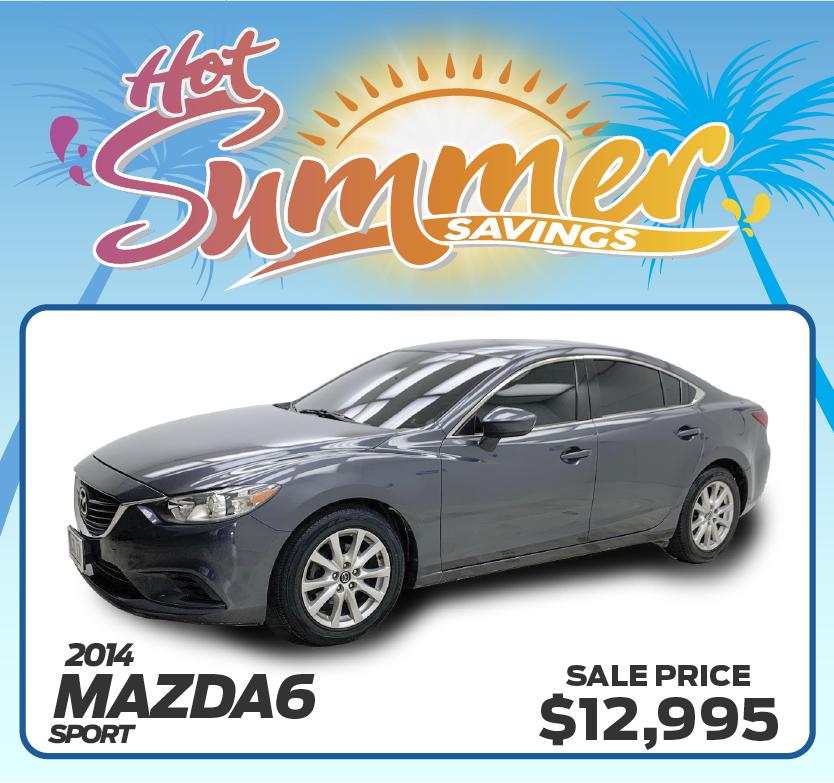 2014 Mazda6 Sport
