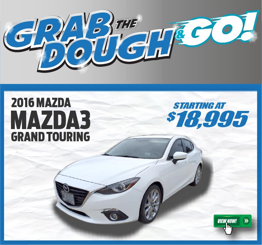 2016 Mazda3 Grand Touring