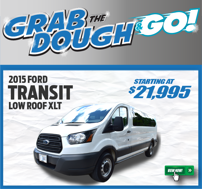 2015 Ford Transit Low Roof XLT
