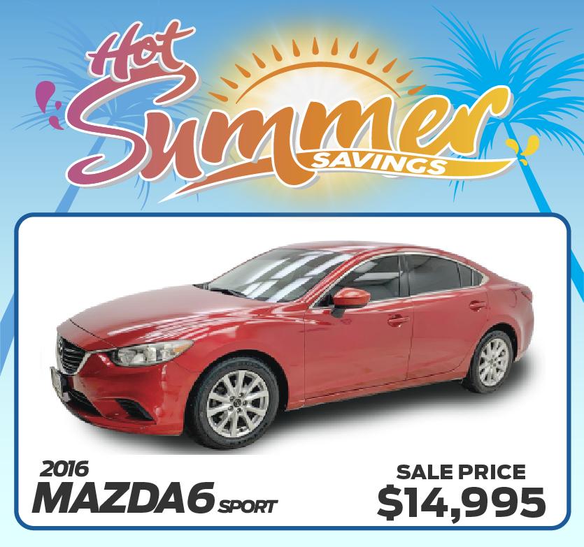 2016 Mazda6 Sport