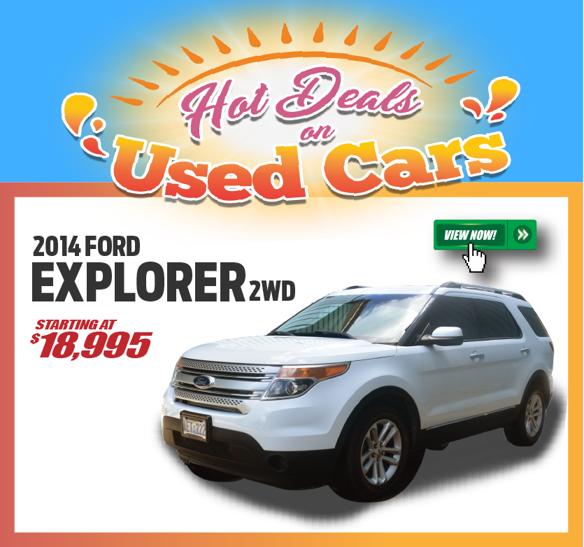 2014 Ford Explorer 2WD