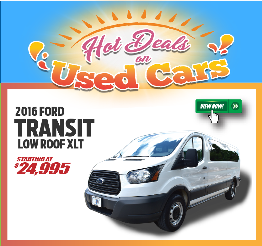 2016 Ford Transit Low Roof XLT
