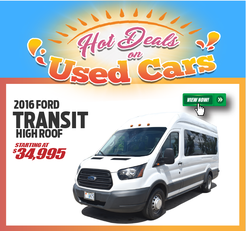 2016 Ford Transit High Roof