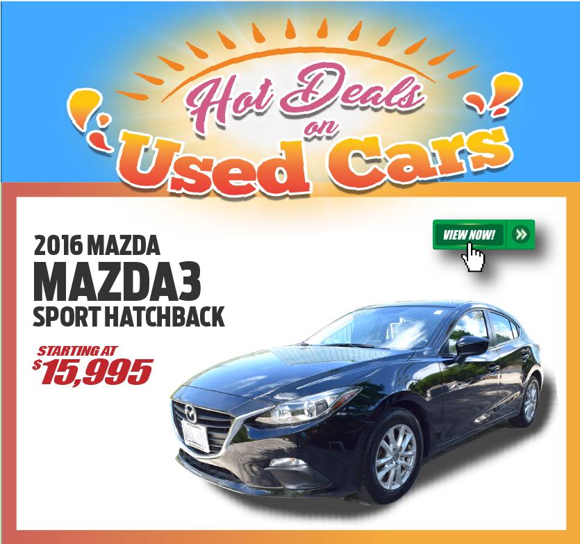 2016 Mazda3 Sport Hatchback