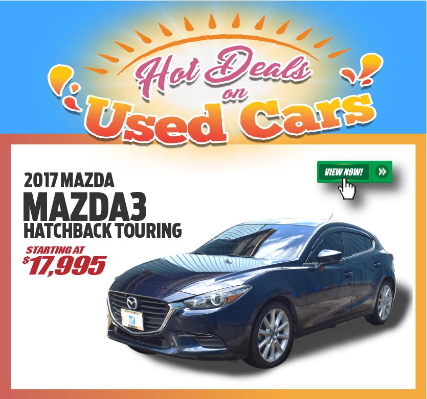2017 Mazda3 Hatchback Touring