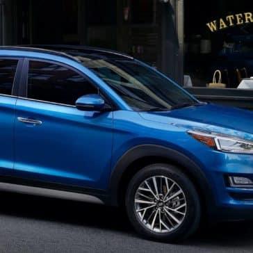 2019 Hyundai Tucson Parked