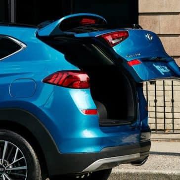 2019 Hyundai Tucson Open Trunk