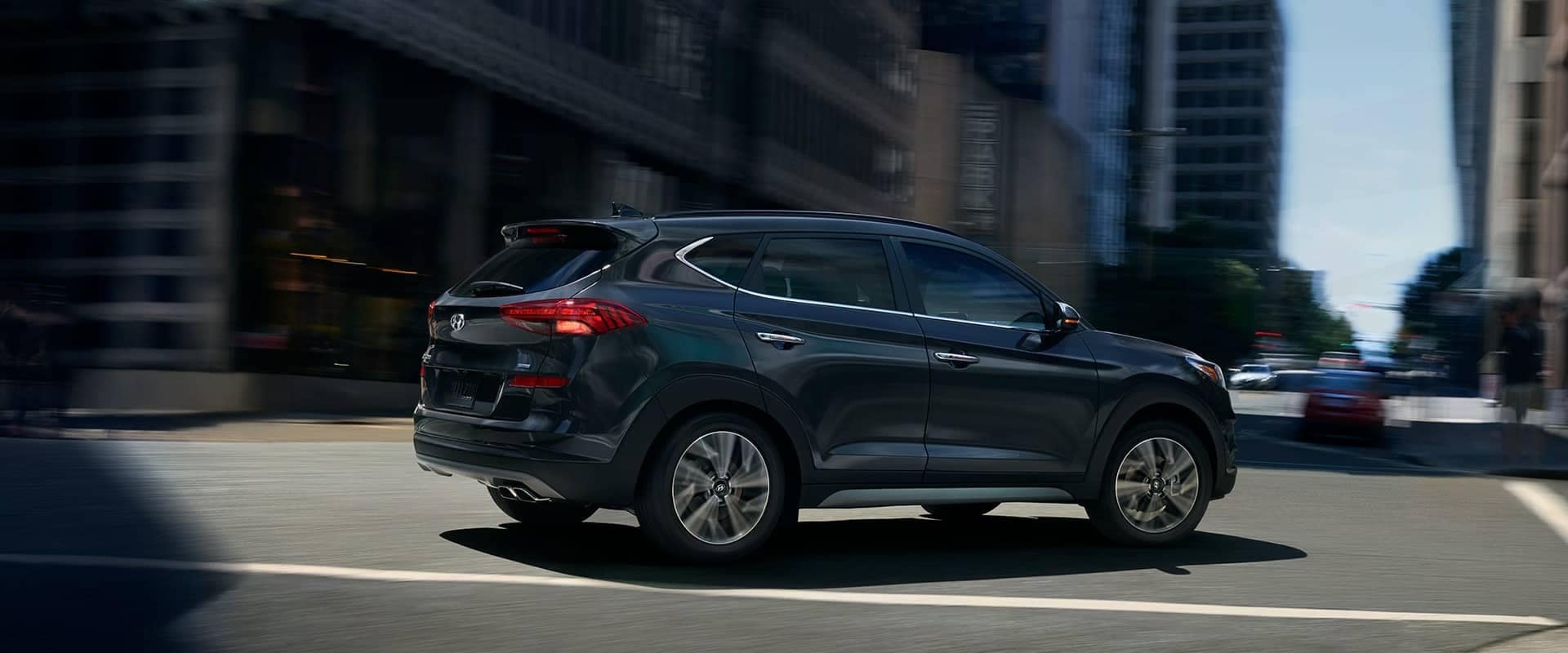 2019 Hyundai Tucson In The City