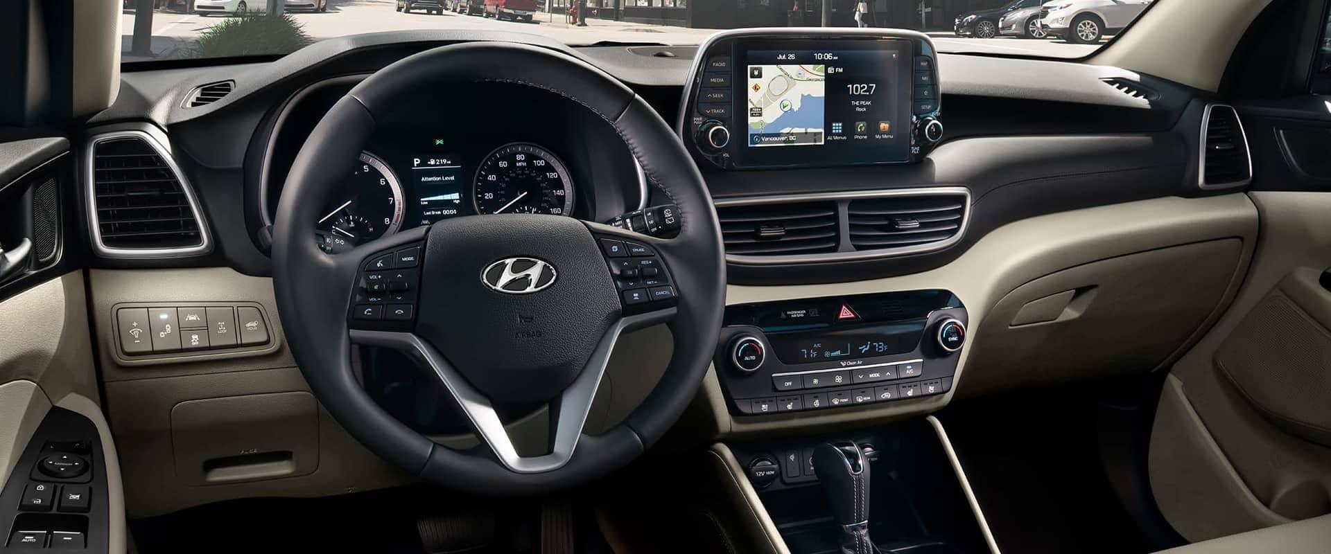 2019 Hyundai Tucson Dash