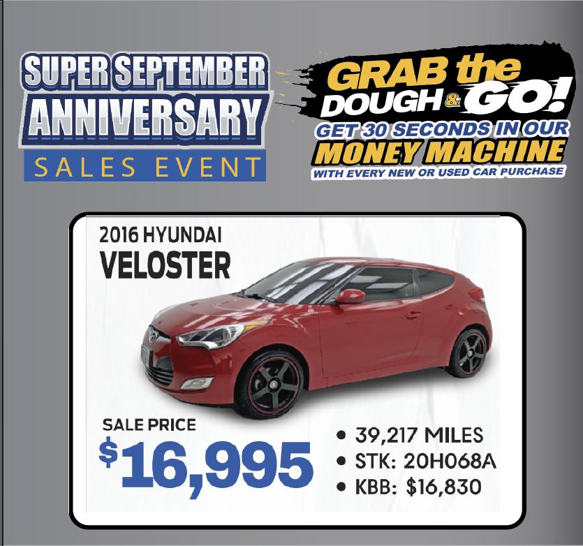2016 Hyundai Veloster Sport
