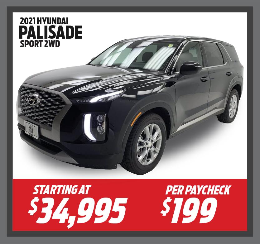 2021 Hyundai Palisade Sport 2WD