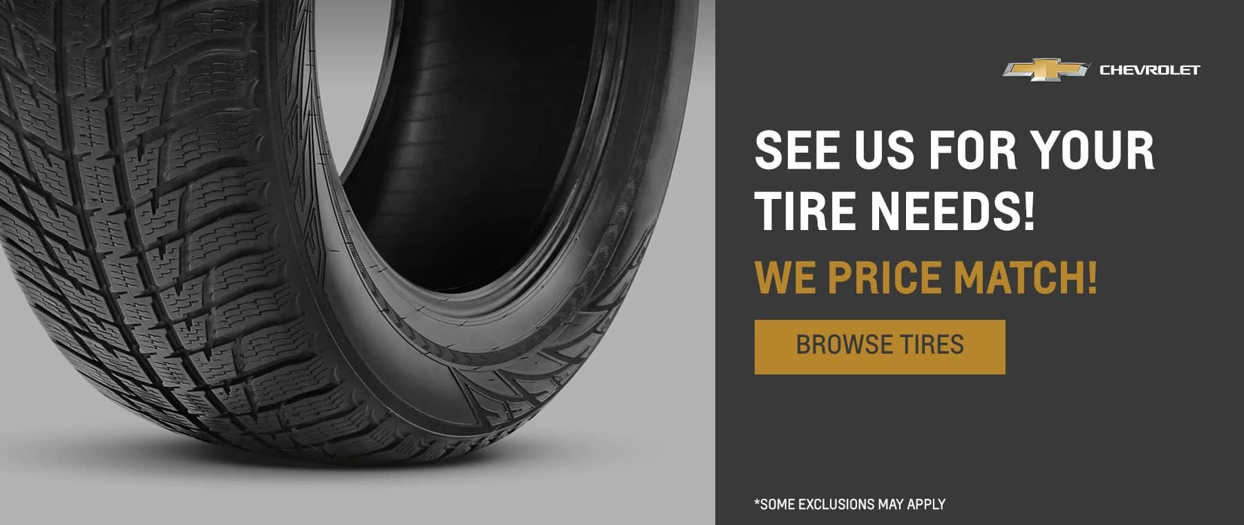 Tire Price Match