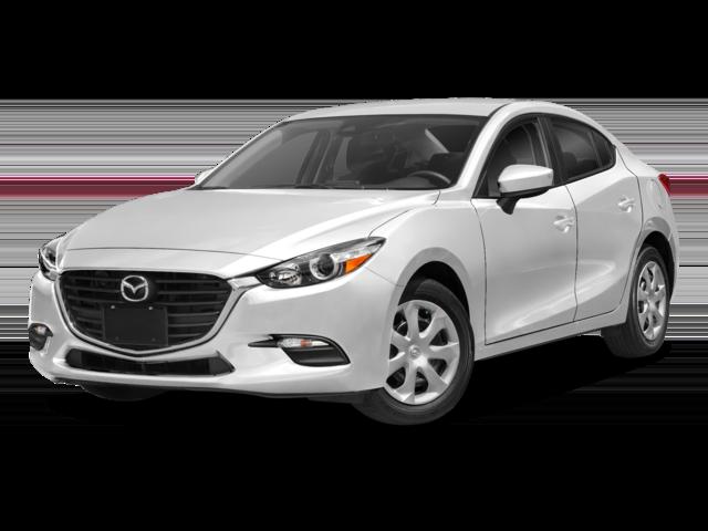 White 2018 Mazda3 4-Door