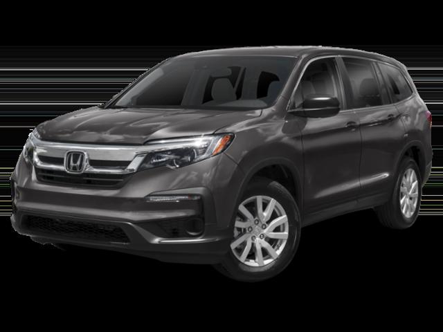 Dark gray 2019 Honda Pilot