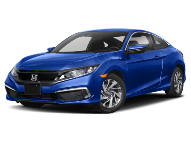Blue 2019 Honda Civic
