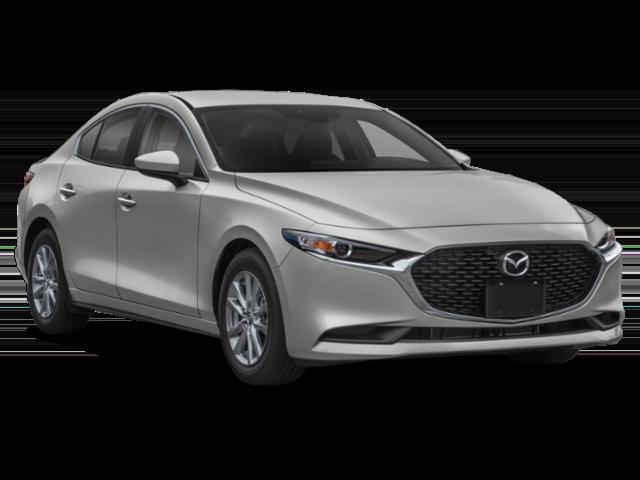Silver 2019 Mazda3 4-Door Sedan