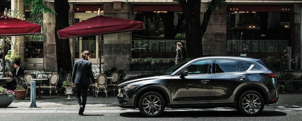 2020-Mazda-CX-5 On City Street