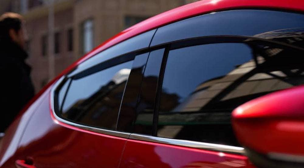 2020 Mazda3 side window deflector