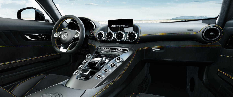 2016 Mercedes-AMG GT S Interior