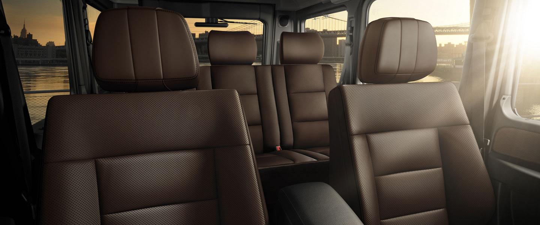 2016 Mercedes-Benz G-Class Interior