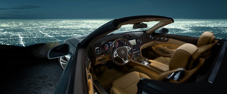 2016 Mercedes-Benz SL-Class Roadster interior