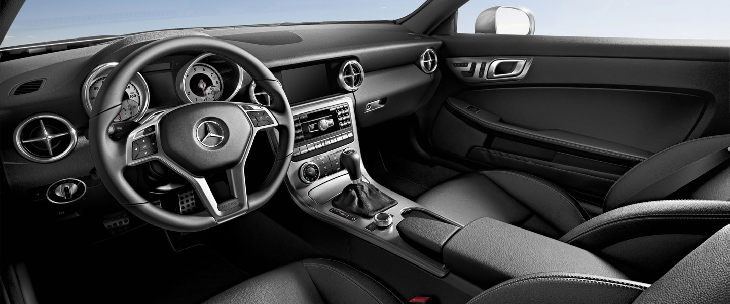 2016 mercedes benz slk class roadster interior
