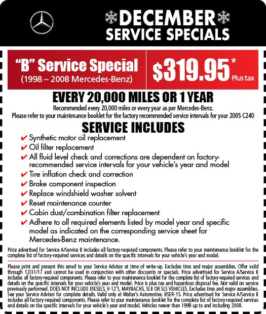 Mercedes benz service specials mercedes benz near for Service coupons for mercedes benz