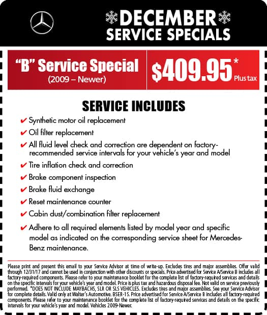 Mercedes benz service specials mercedes benz near for Mercedes benz financial services address