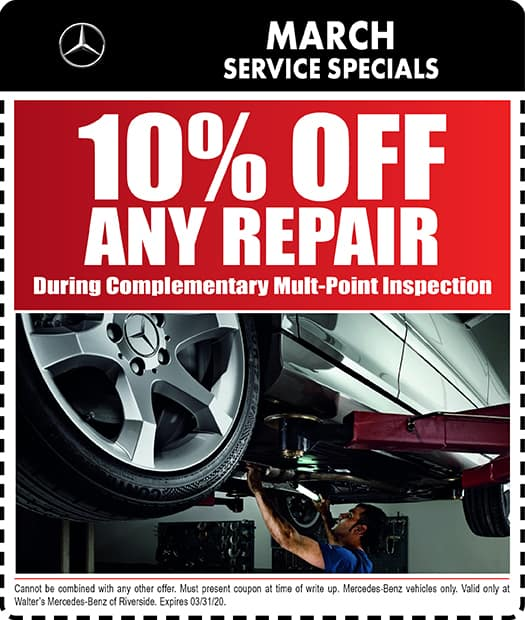 Mercedes-Benz Service Coupons & Specials | Riverside CA