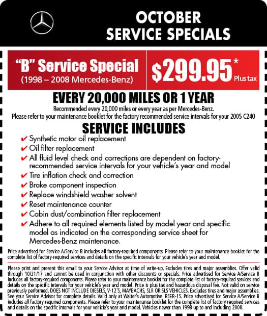 mercedes benz service specials auto repair in riverside