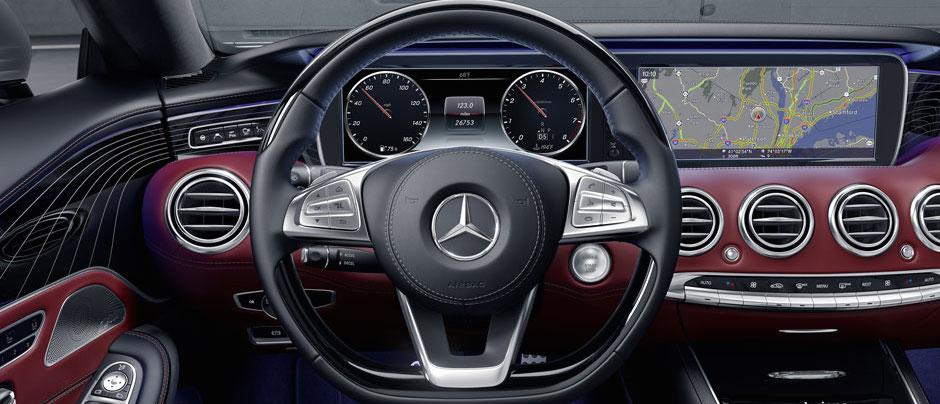 2017 Mercedes-Benz S-Class Cabriolet dashboard