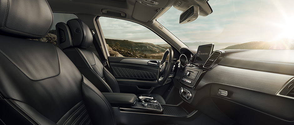 2017 Mercedes-Benz GLE interior