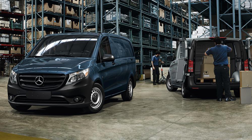 Mercedes-Benz Metris cargo van design
