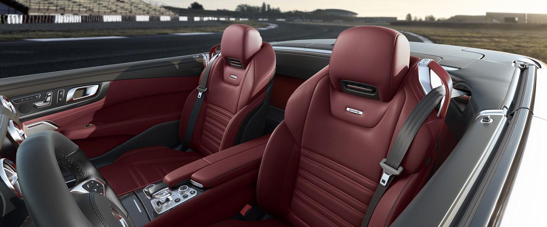2017 Mercedes-Benz SL Roadster seats