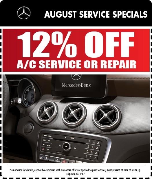 Mercedes benz service specials auto repair in riverside for Walter mercedes benz riverside ca