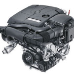 Mercedes-Benz C 300 engine