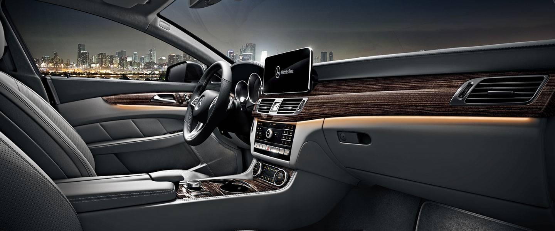 2017 Mercedes-Benz CLS Coupe interior
