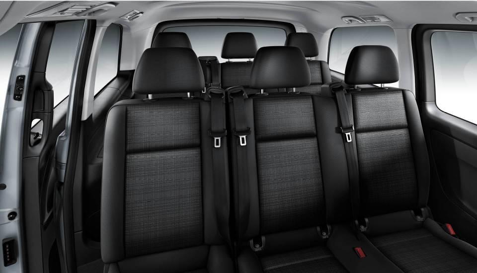 2017 Mercedes-Benz Metris Passenger Van cabin