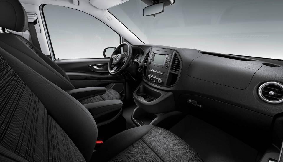 2017 Mercedes-Benz Metris Passenger Van dashboard