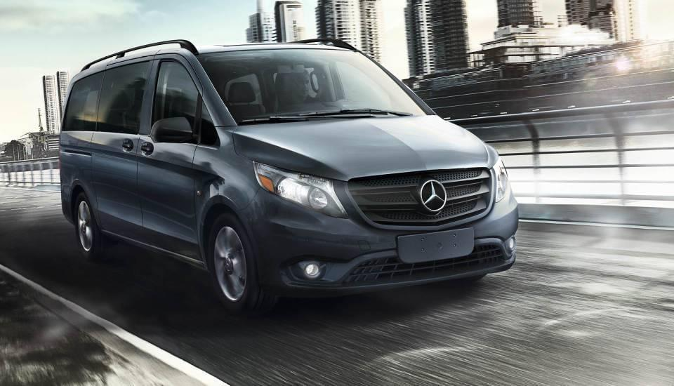2017 Mercedes-Benz Metris Passenger Van performance