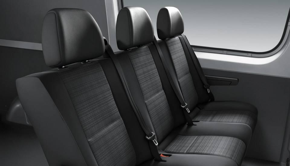 2017 Sprinter Crew Van seating