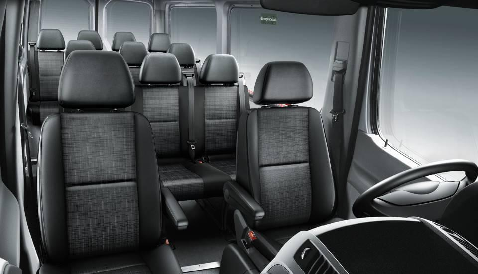 2017 Sprinter Passenger Van seating