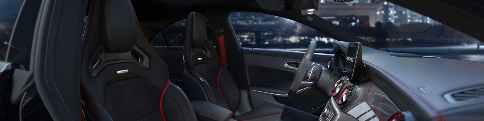 Mercedes-Benz CLA Coupe seating