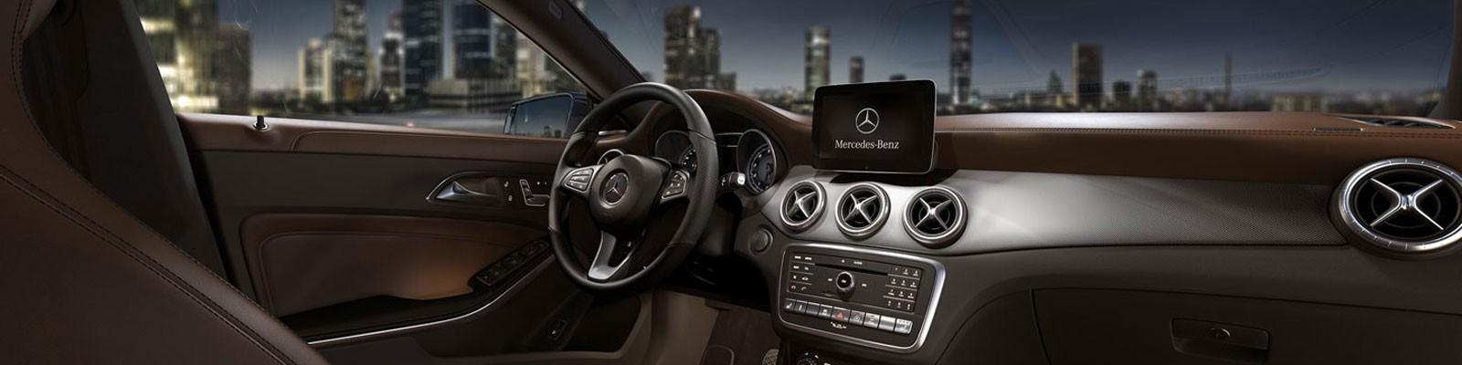 Mercedes-Benz CLA Coupe interior