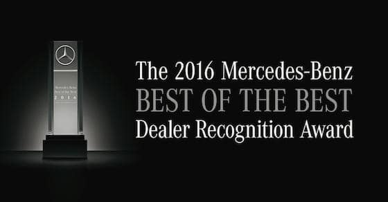 Mercedes-Benz Best of the Best Award