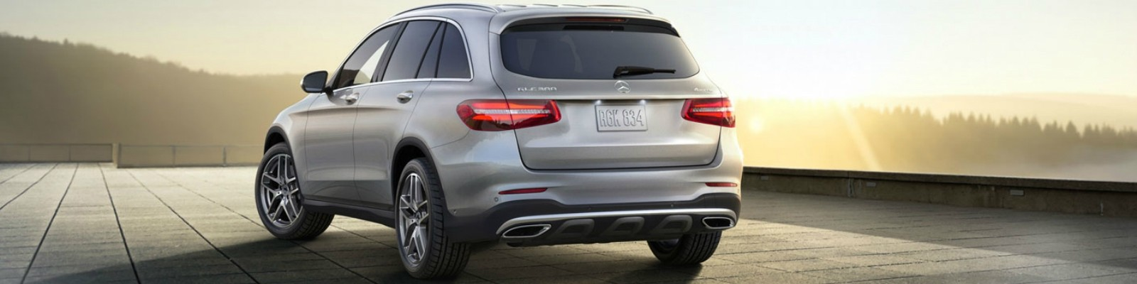 2018 Mercedes-Benz GLC back end