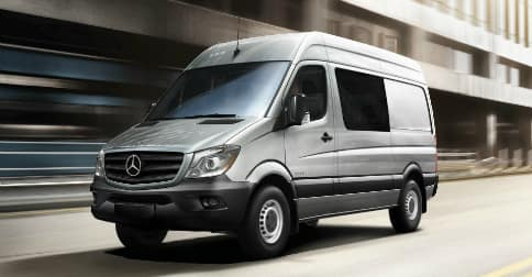 2018 Mercedes-Benz Sprinter Crew Van