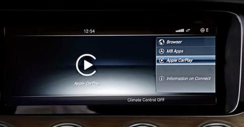 Apple carplay in mercedes benz e class walter 39 s mercedes for Walters mercedes benz riverside