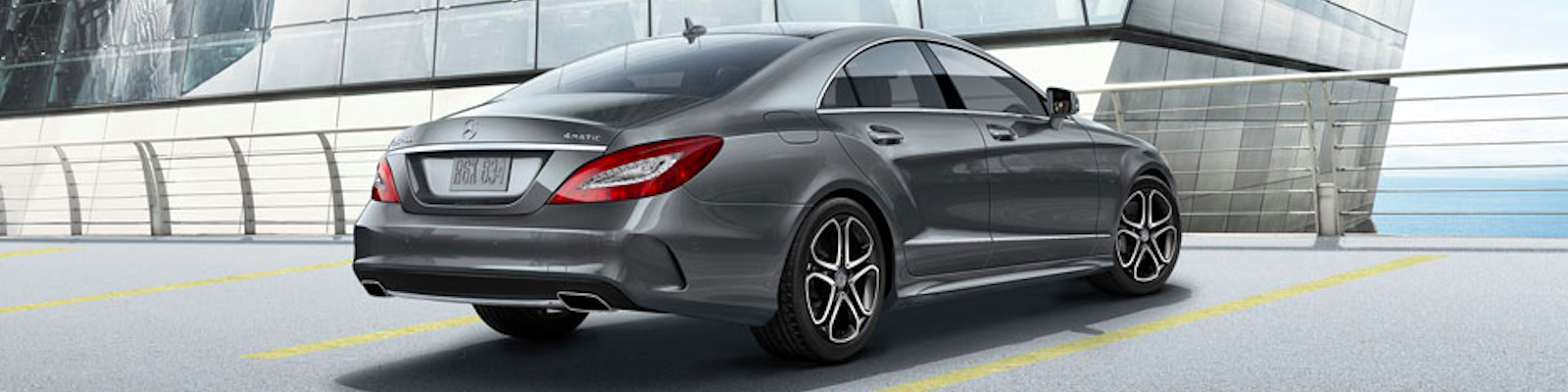 Mercedes-Benz CLS Coupe rear